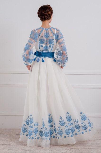 Сучасні вишиті сукні (30 фото) (4)