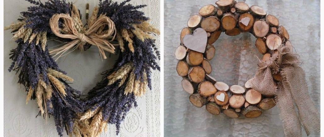 Декоративні віночки з простих матеріалів 35+ ідей