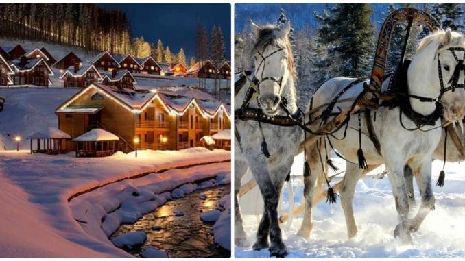 Зимовий відпочинок в Карпатах 2017-2018: лижі, санки, екскурсії