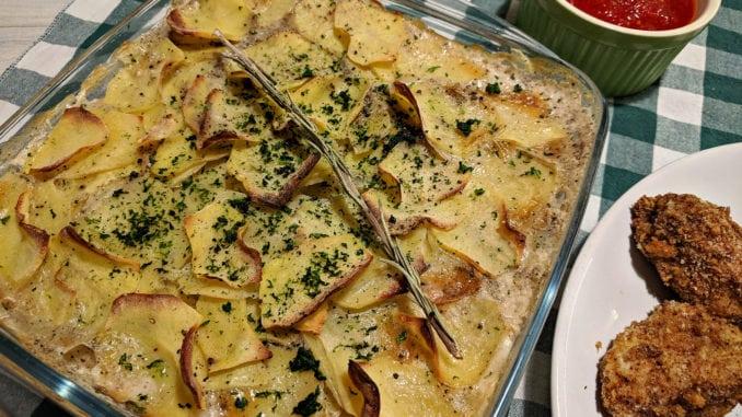 Картопляний гратен: покроковий рецепт з фото