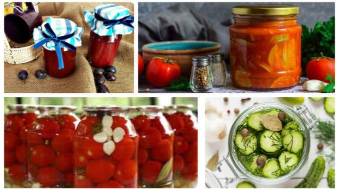 Рецепти на зиму: заготовки та консервація (25 смачних рецептів)