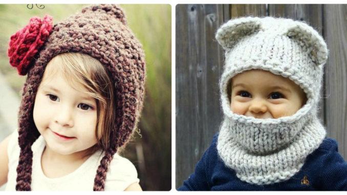 Дитячі в'язані шапки: цікаві ідеї для творчості (фото)