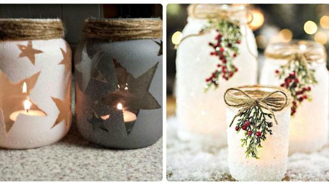 Фантастичні новорічні підсвічники зі звичайних банок: 20 ідей (фото)