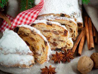 Штоллен, традиційний різдвяний кекс - покроковий рецепт